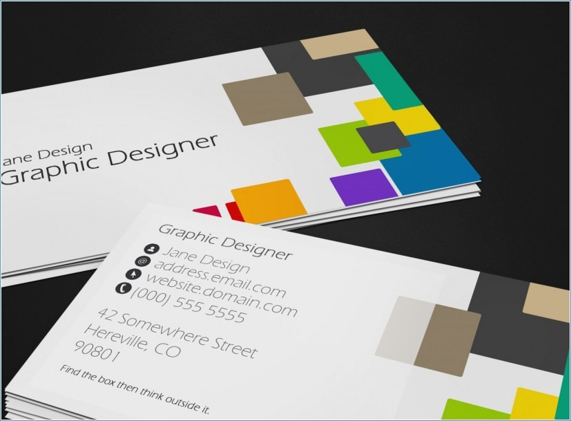 Print My Own Business Cards