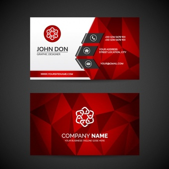 business card design professional business card template 1289 222