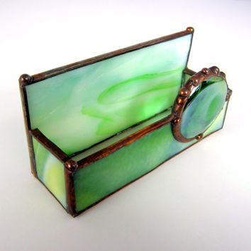 Business Card Holder Glass