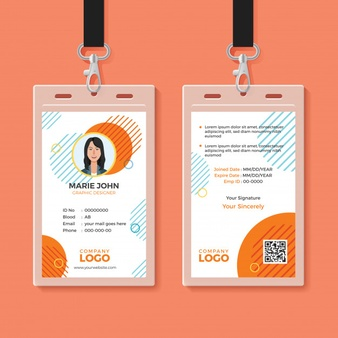 business card size photoshop multipurpose office id card template 7547 356