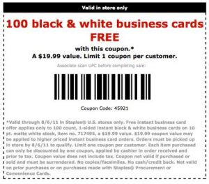 Business Cards From Staples Business Card Website Printable