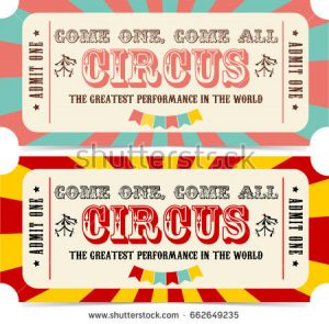 carnival tickets template free printable business card website