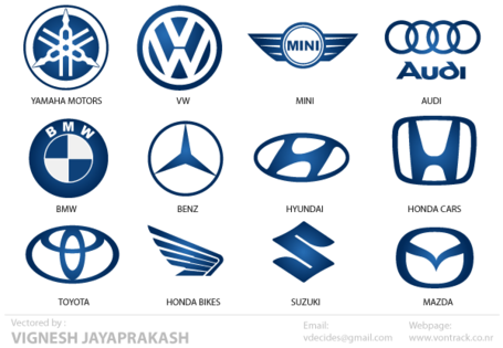 fast business cards automotive logos free vector 27095