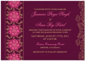 Free Engagement Invitation Templates Printable Business Card