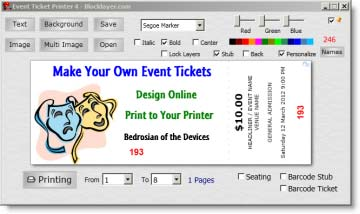 free event ticket template printable business card website