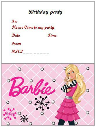 Another Picture Of Free Printable Birthday Invites Templates