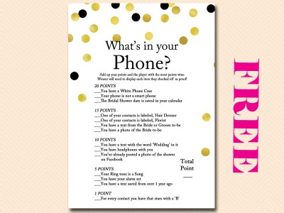 free printable bridal shower invitation templates for word whats in your phone7