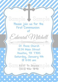 Free Printable Confirmation Invitations Template Archives Business