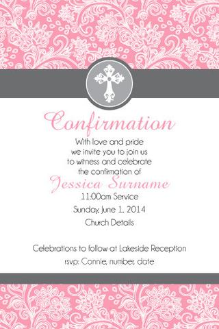 By Printablee Postpic 2010 10 Free Printable Confirmation Invitation Cards 311123