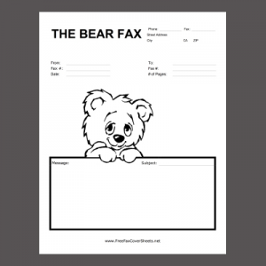 Cute Fax Cover Sheet | Free Printable Fax Cover Sheet Template Business Card Website