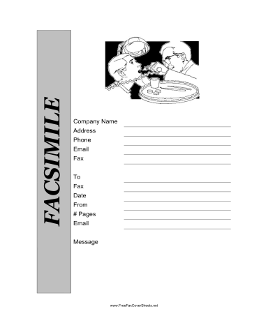 Free Printable Fax Cover Sheet Template