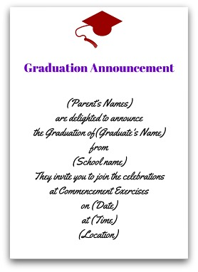 Free Printable Graduation Party Invitations Templates Business