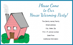 Free Printable Housewarming Invitations Templates 6 Images More Pic Use