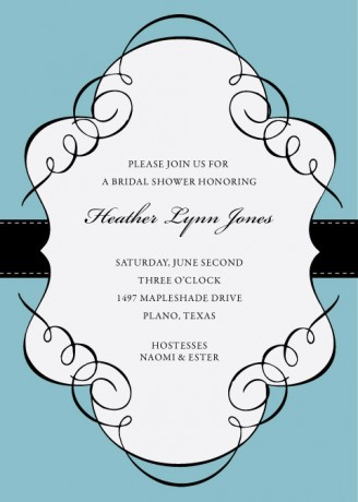 Free Printable Invitation Templates For Word Archives