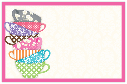 Free Printable Mad Hatter Tea Party Invitation Templates Archives