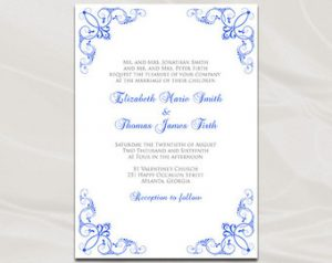 free printable wedding invitation templates download business card