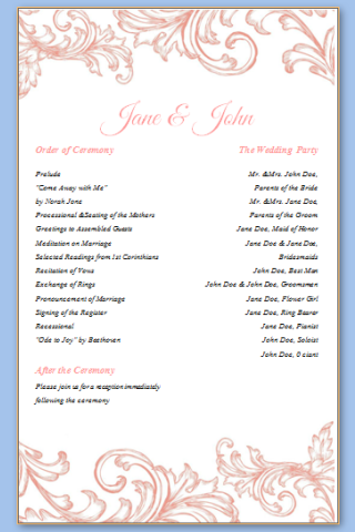 Free Printable Wedding Templates Business Card Website