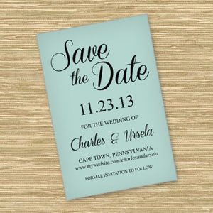 free save the date printable templates business card website