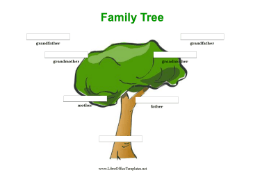 free teacher newsletter templates printable colorful 3 generation family tree