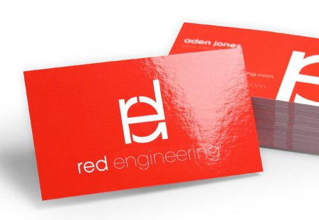 glossy business card shiny printed business cards in croydon 1