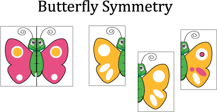 lesson plan template printable butterfly matching preschool game