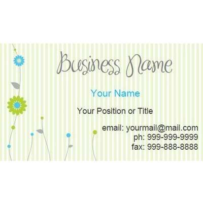 Make Your Own Business Cards Free Printable Business Card
