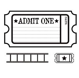 movie ticket invitation template free printable business card