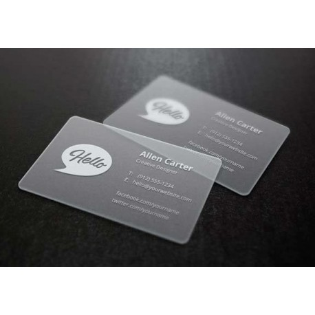 plastic business card printing frosted business cards frosted plastic business card printing custom business card ideas