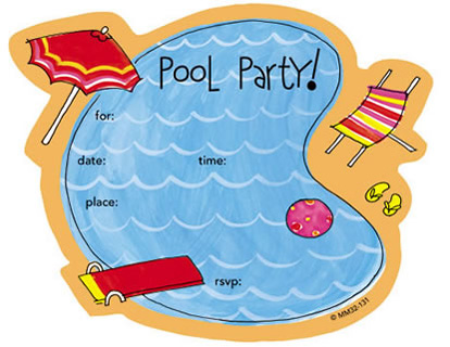 By Bagvania Wp Content Uploads 2014 11 Free Printable Kids Pool Party Birthday Invitations
