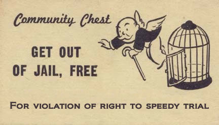 print out business cards dismissal for violation of right to speedy trial