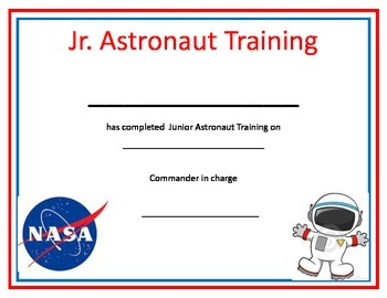 Printable Badge Template Original further  on astronaut space training certificate 2020573