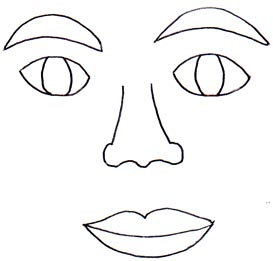 Satisfactory image for free printable eyes nose mouth