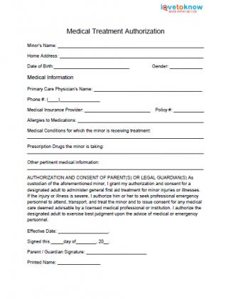printable fax cover sheet template 168741 325×420 medical treatment authorization thumb