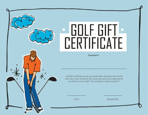 Printable Gift Certificates Templates Free Business Card Website