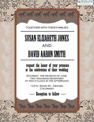 another picture of printable wedding invitation templates free download