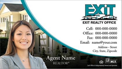 realtor business cards exit 10