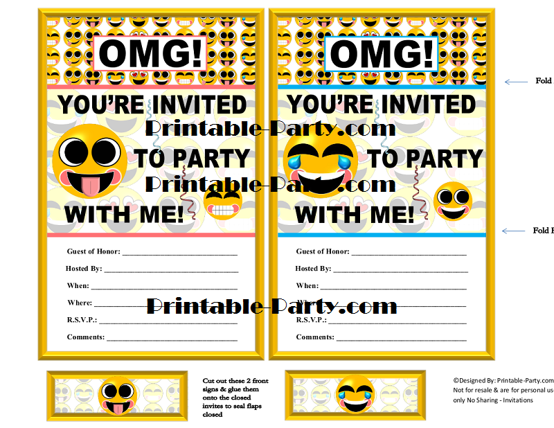 St Birthday Invitation Template Free Printable
