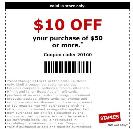 Staples Coupon Code Business Cards Arts Arts