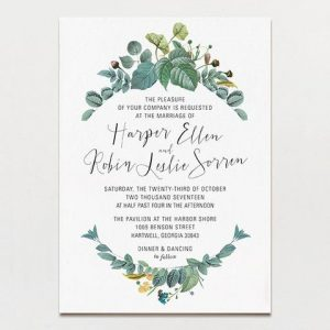 Wedding Invitation Templates Printable Business Card Website