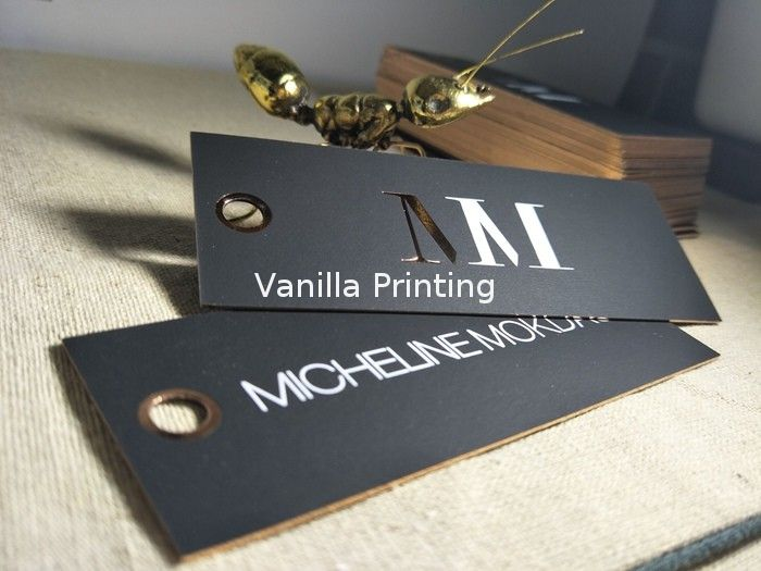 High End Foil Edge Business Cards